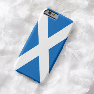 Bandera escocesa de la cruz de Escocia St Andrew Funda De iPhone 6 Barely There