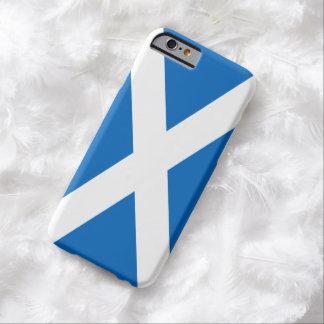 Bandera escocesa de la cruz de Escocia St Andrew Funda Para iPhone 6 Barely There