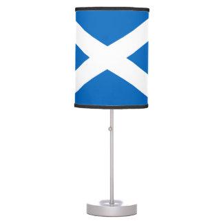 Bandera escocesa de la cruz de Escocia St Andrew Lámpara De Mesilla De Noche