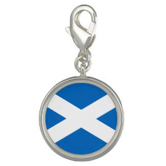 Bandera escocesa de la cruz de Escocia St Andrew Dije Con Foto