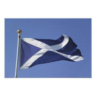 Bandera escocesa fotografía