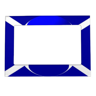 Bandera escocesa marcos magneticos para fotos