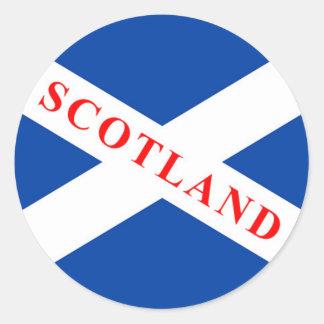 Bandera escocesa - pegatinas de Saltire