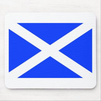 Bandera escocesa tapete de raton