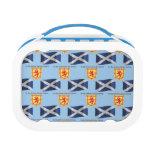 Bandera, escudo y lema de Escocia