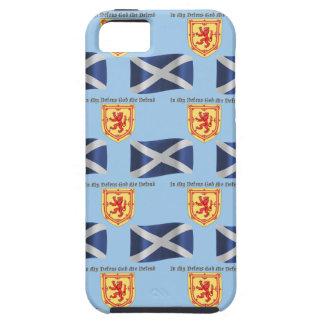 Bandera, escudo y lema de Escocia Funda Para iPhone SE/5/5s