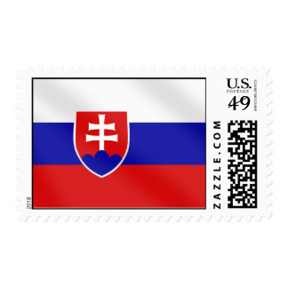 Bandera eslovaca de Eslovaquia en camisetas y para Sello