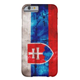 Bandera eslovaca funda de iPhone 6 barely there