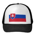 Bandera eslovaca gorras