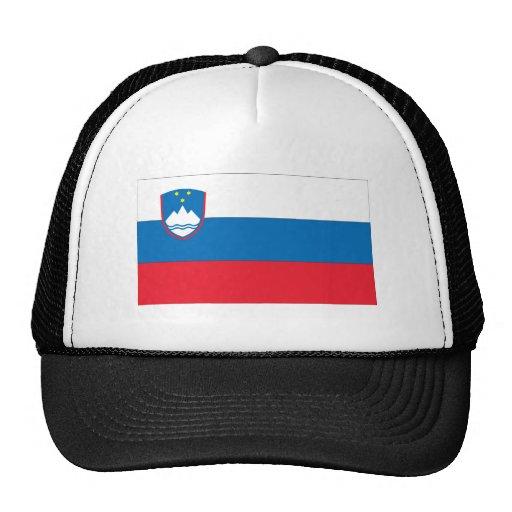 Bandera eslovena gorras