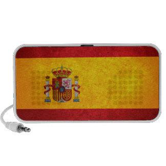 Bandera española altavoces de viaje