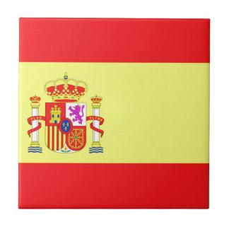 Bandera española teja cerámica