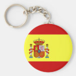 Bandera española Bandera Española Llavero Redondo Tipo Pin