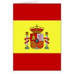 Bandera española Bandera Española Tarjetón