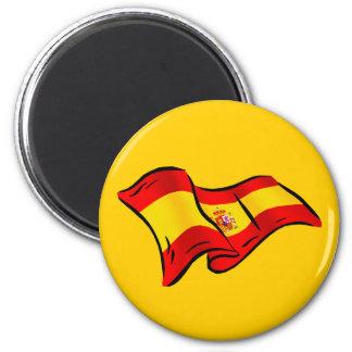 Bandera española de los regalos de España para los Imanes