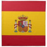 Bandera española en la servilleta de MoJo