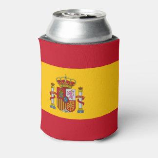 Bandera española enfriador de latas