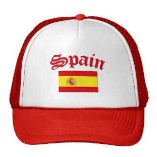Bandera española gorras