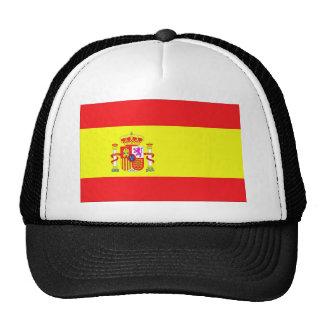 Bandera española gorros