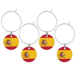 Bandera española identificador de copa