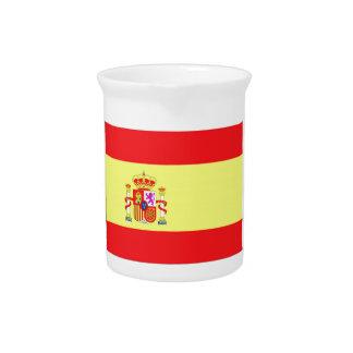 Bandera española jarra