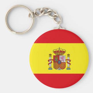 Bandera Española Keychain