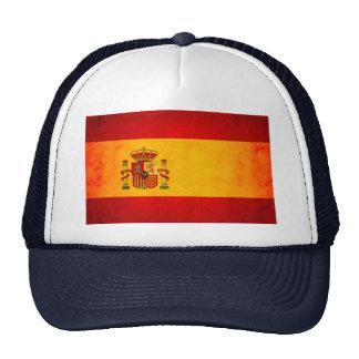 Bandera española nerviosa moderna gorras