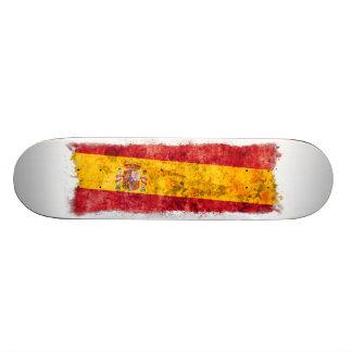 "Bandera española patineta 7 7/8"""