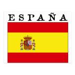 Bandera Española Postal