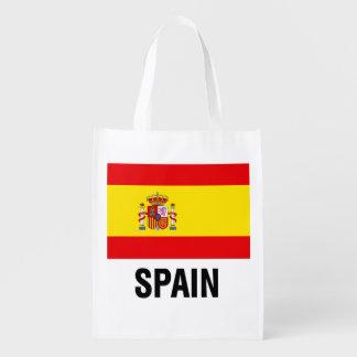 Bandera española bolsa para la compra