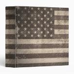 Bandera Estados Unidos del vintage 2 carpetas
