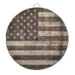 Bandera Estados Unidos del vintage Tabla Dardos