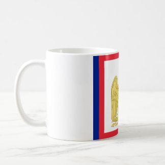 Bandera estándar imperial de Napoleon I en la taza