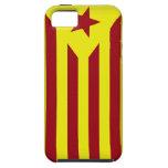 Bandera Estelada Catalana iPhone 5 Carcasa