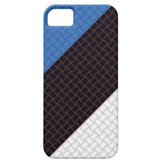 Bandera estonia de Estonia Funda Para iPhone 5 Barely There