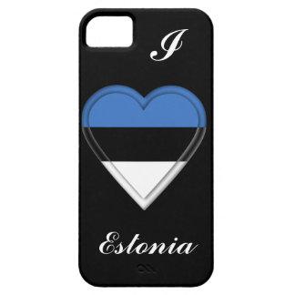 Bandera estonia de Estonia iPhone 5 Carcasas