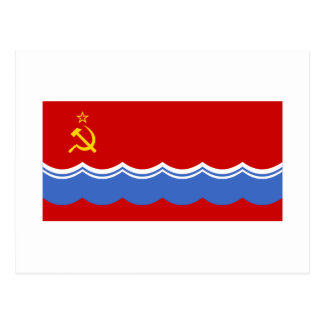 Bandera estonia de SSR Postales