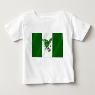 Bandera estupenda nigeriana de Eagles de Nigeria Playera