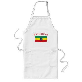 Bandera etíope 2 delantal
