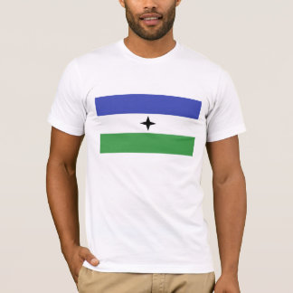 Bandera étnica de la gente bantú de BUBI Playera