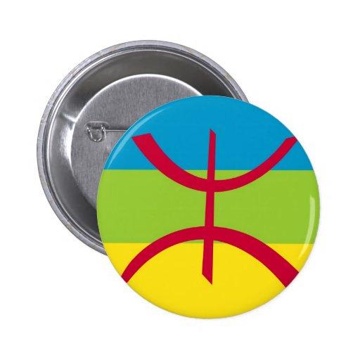 bandera étnica del berber pins