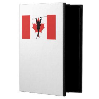 Bandera extrema del canadiense del esquiador