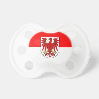 Bandera - Fahne - Flagge - Alemania - Brandeburgo Chupete