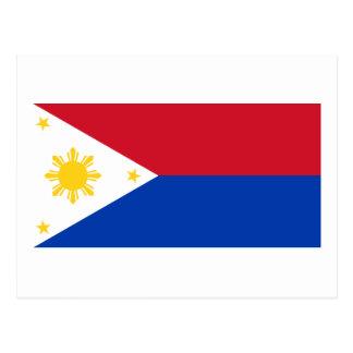 Bandera filipina de las islas filipinas el | Pinoy Tarjetas Postales