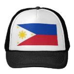 Bandera filipina gorra
