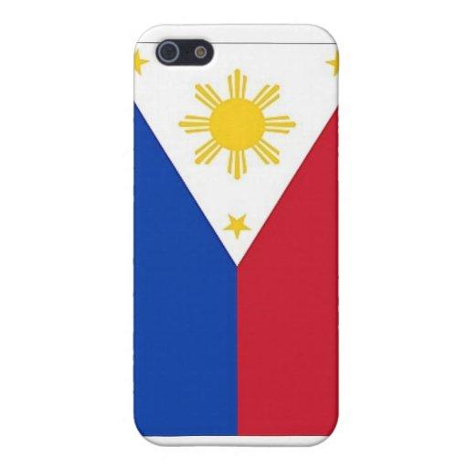Bandera filipina iPhone 5 funda