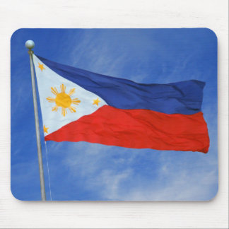 Bandera filipina tapete de ratones