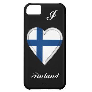 Bandera finlandesa de Finlandia Funda Para iPhone 5C