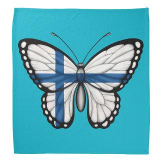 Bandera finlandesa de la mariposa bandanas
