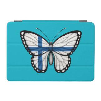 Bandera finlandesa de la mariposa cover de iPad mini